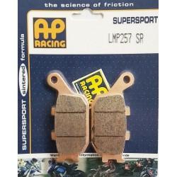 lmp257sr : Plaquettes de frein arrière AP Racing pour modèle ABS NC700