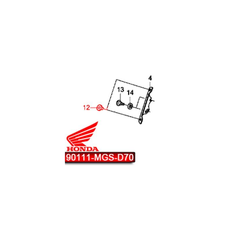90111-MGS-D70 : Integra windshield rubber NC700 NC750