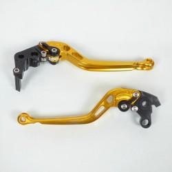 0165S1414TB : Leviers Réglables et Repliables Aluminium NC700