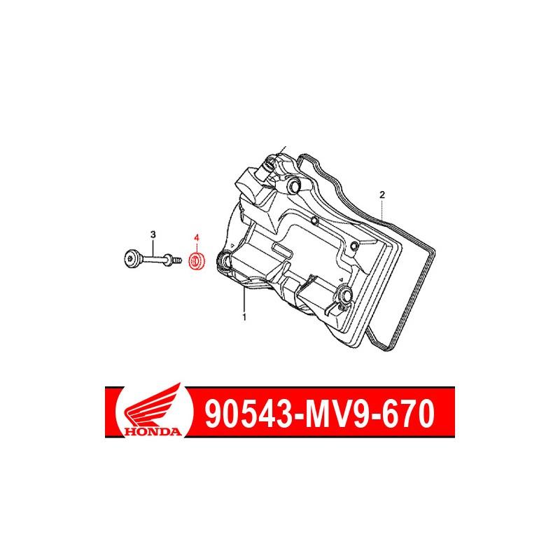 90543-MV9-670 : Cylinder head cover screw gasket NC700 NC750
