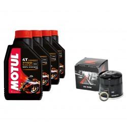 NC700 Motul 7100 Oil change pack