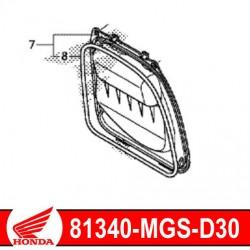 81340-MGS-D30 : Couvercle batterie entretien NC700 NC750