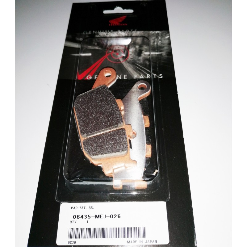 06435-MEJ-026 : Honda rear brake Pads for ABS series NC700 NC750