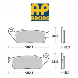 LMP227SF : Plaquettes de frein avant AP Racing pour modèle non-ABS NC700