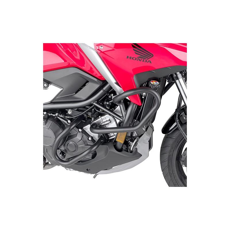TNH1192 : Protections tubulaires noires hautes Givi 2021 NC700 NC750