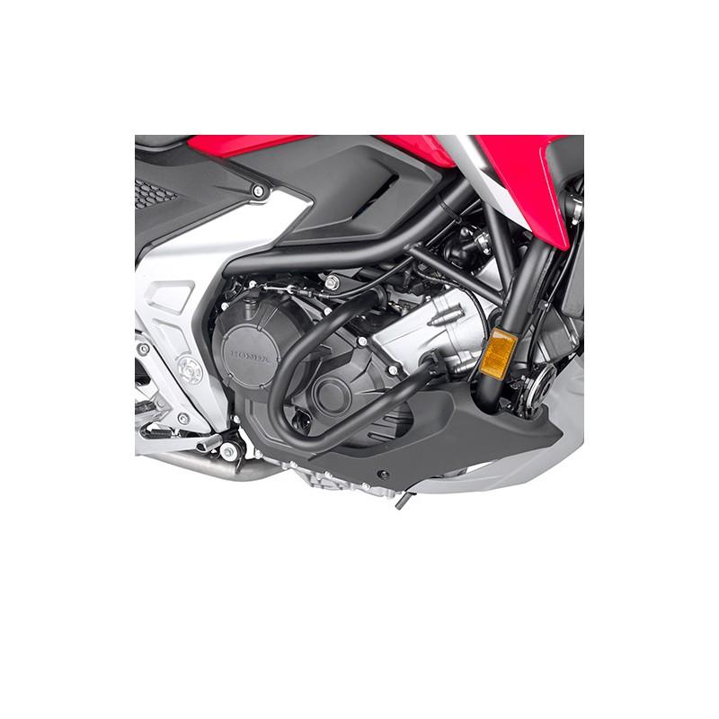 TN1192 : Protections tubulaires noires basses Givi 2021 NC700 NC750