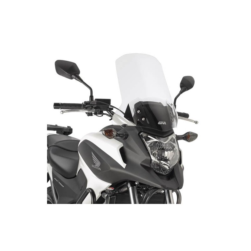 D1111ST : Givi High Protection Windshield +16cm NC700