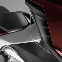 08R70MGSD70 : Honda Leg Wind Deflectors NC700