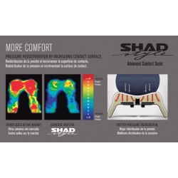SHH0I720C : Shad Comfort Seat for Integra 700 NC700 NC750
