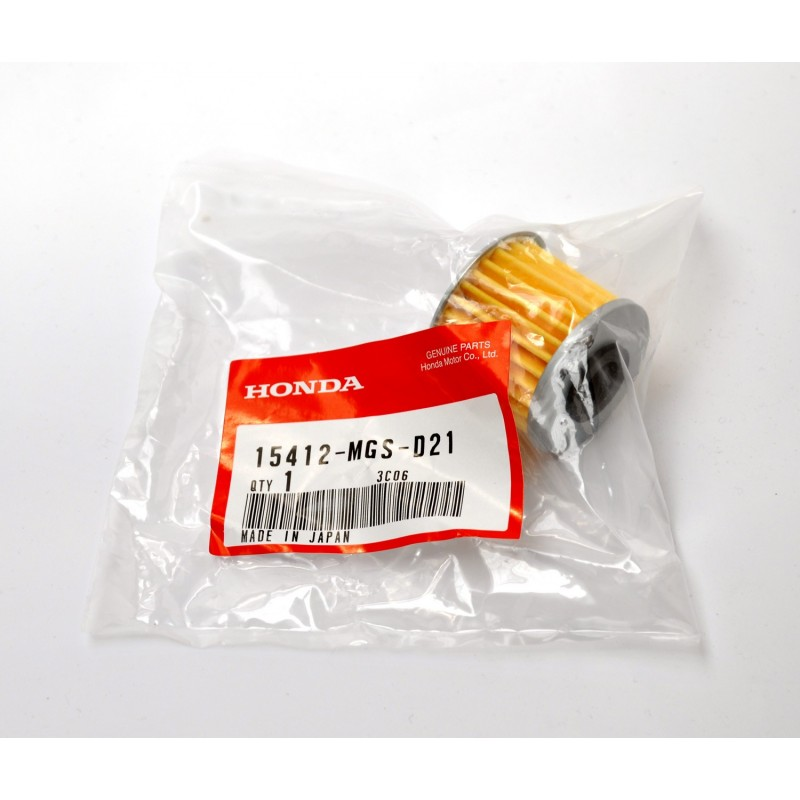15412-MGS-D21 : Honda oil filter for automatic transmissions NC700