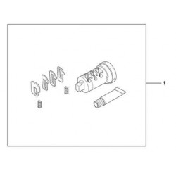 08885-HAC-P00 : Serrure pour valises latérales d'origine Honda NC700 NC750