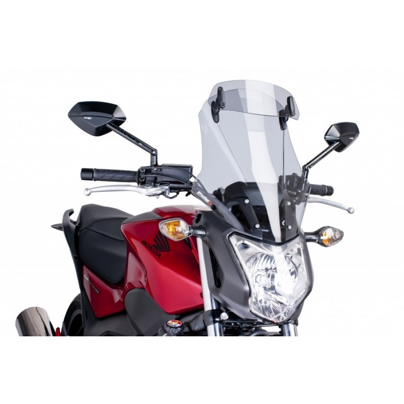 6001H : Puig Touring Windshield with Visor NC700