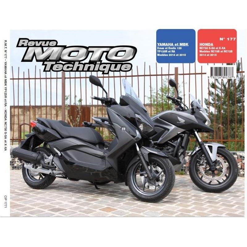RMT177 : Revue Technique NC750X NC750S NC700