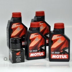 PackVidange4 : NC700 Oil change pack NC700 NC750