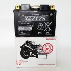 31500-MCF-305 : Batterie d'origine Honda YTZ12S NC700