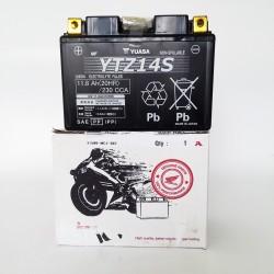31500-MCR-305 : Batterie d'origine Honda YTZ14S NC700