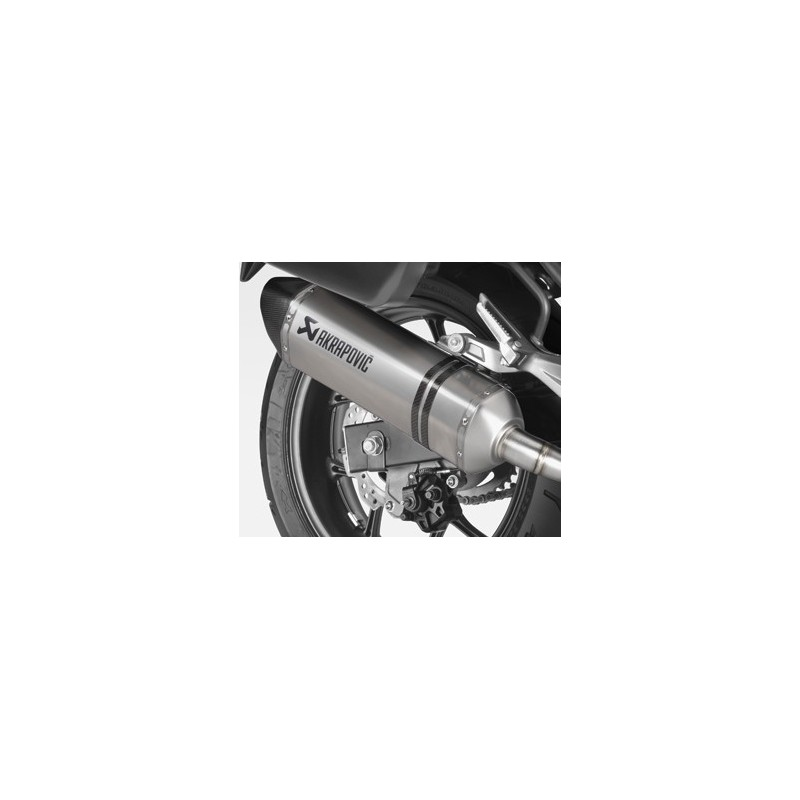 08F88-MKA-900 : Silencieux spécial Honda - Akrapovic NC700 NC750