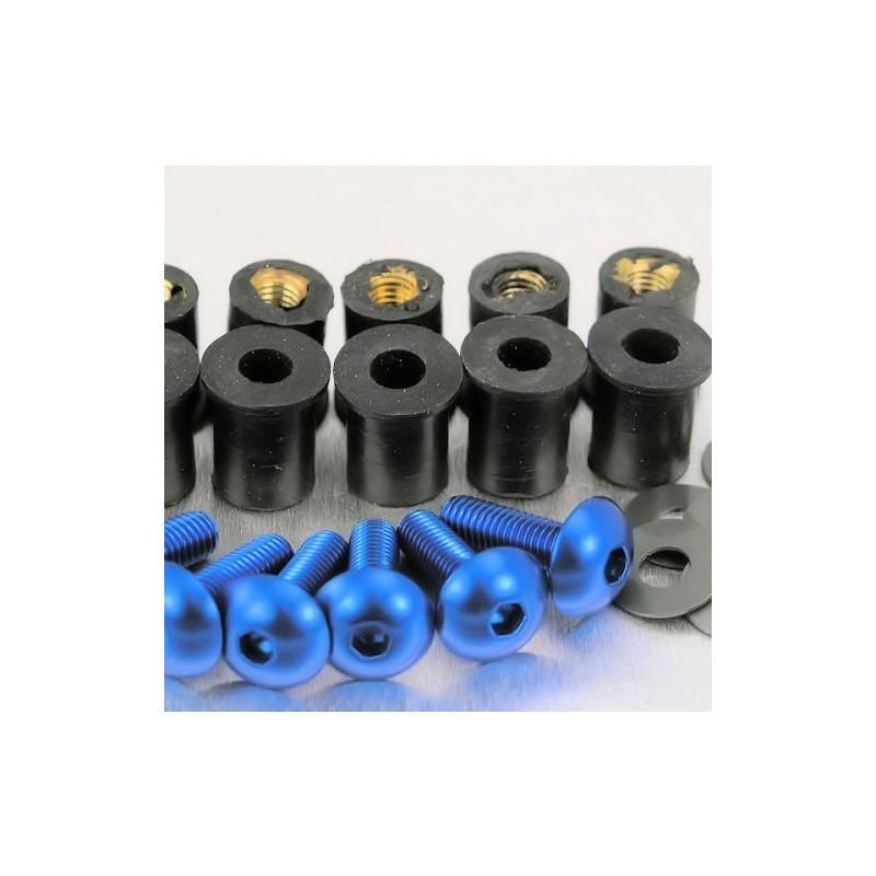 530020BK : Kit de vis pour bulle Pro-Bolt NC700