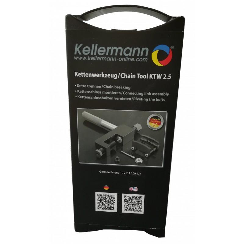 KTW 2.5 : Outil rive-dérive chaîne Kellermann NC700