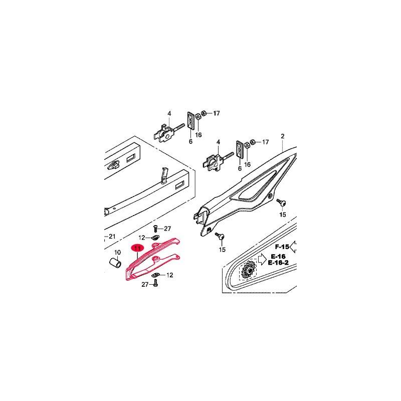 52170-MGS-D30 : Coulisseau passage de chaîne Honda NC700
