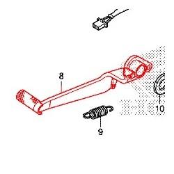 46500-MGS-D30 : Pédale de frein origine Honda NC700 NC750