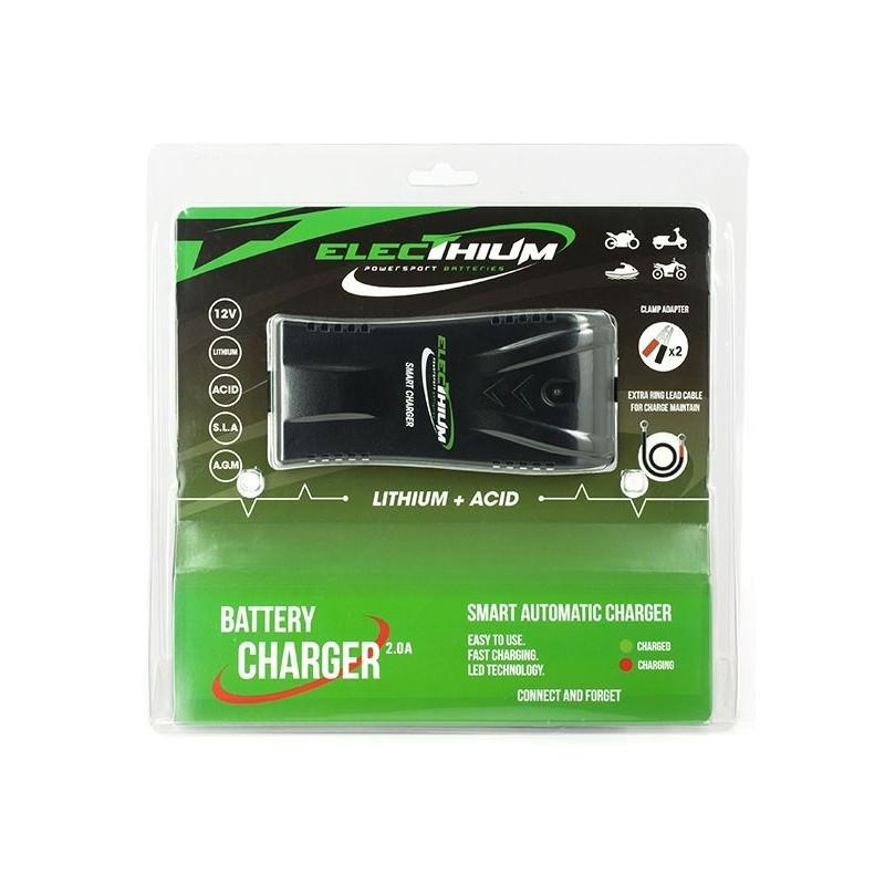 ACCUB03 - 110229499901 : Chargeur moto universel spécial Lithium NC700 NC750